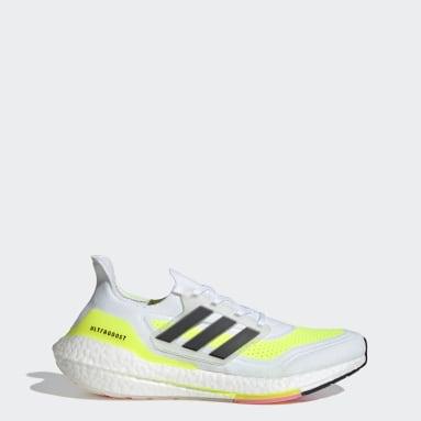 Men's Running White Ultraboost 21 Shoes