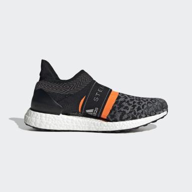 ผู้หญิง วิ่ง สีดำ รองเท้า adidas by Stella McCartney Ultraboost 3D Knit