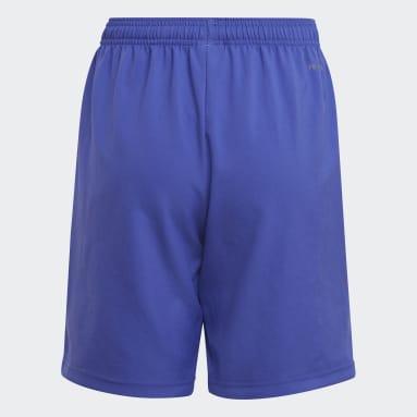 Pantalón corto Condivo 21 Primeblue Violeta Niño Fútbol