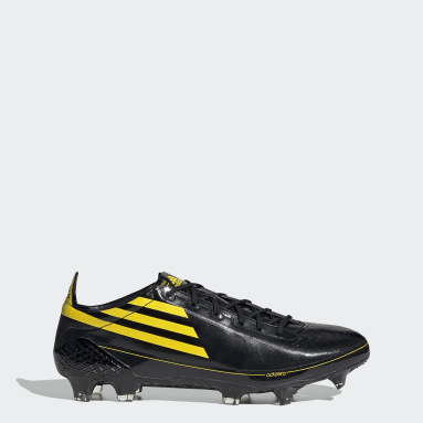 Men Football Black F50 Ghosted Adizero Firm Ground Boots