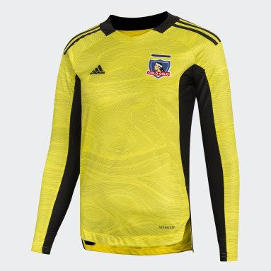 Camiseta De Arquero Club Colo-Colo Amarillo Niño Fútbol
