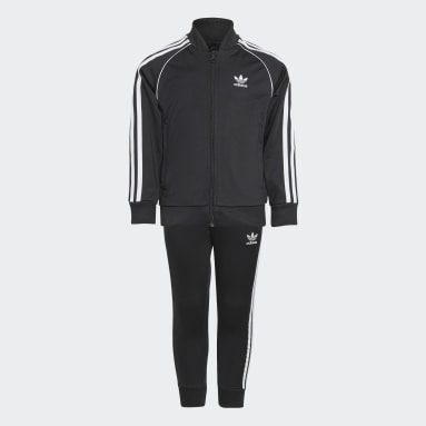 Children Originals Black Adicolor SST Track Suit