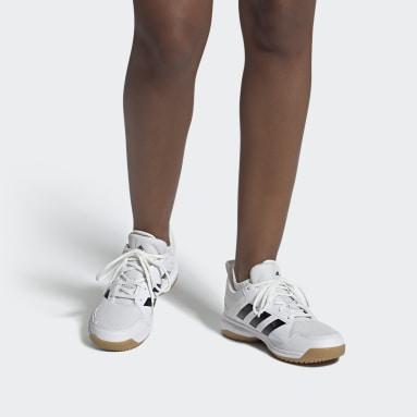 Dames Tafeltennis Wit Ligra 7 Indoor Schoenen