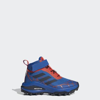 Kids Running Blue Marvel Spider-Man Freelock Fortarun Shoes