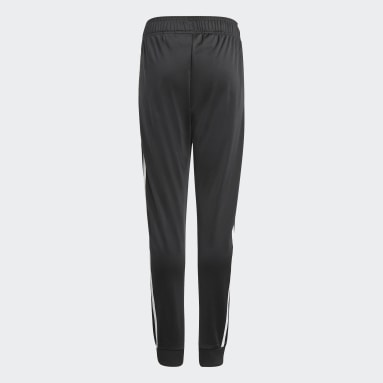 Youth 8-16 Years Originals Black Adicolor SST Tracksuit Bottoms