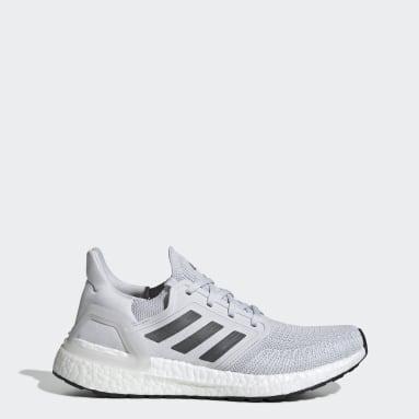 Women Running Grey Ultraboost 20 Shoes