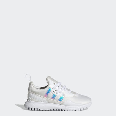Children Originals White Originals Flex Shoes