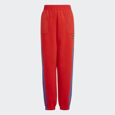 красный Брюки adidas x Classic LEGO® 3-Stripes Zip Pocket