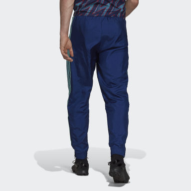 Men Football Blue Arsenal Icons Woven Tracksuit Bottoms