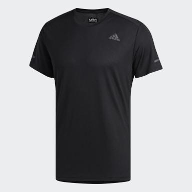 T-shirt Run It noir Hommes Course