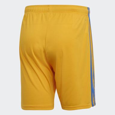 Shorts Titular Tigres UANL Amarillo Hombre Fútbol