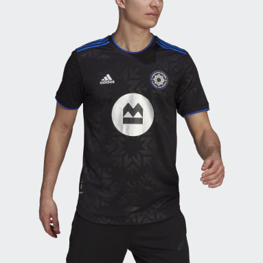 Men Soccer Black CF Montreal 21/22 Home Authentic Jersey