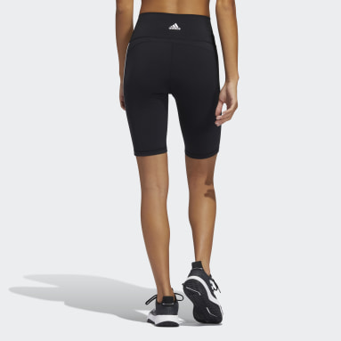 Women Cycling Black Believe These 2.0 3-Stripes Short Tights