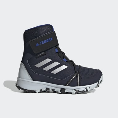 Chaussure de randonnée Terrex Snow CF Winter Bleu Enfants TERREX