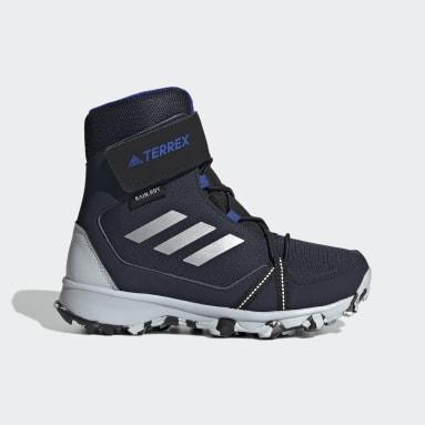 Børn TERREX Blå Terrex Snow CF Winter vandrestøvler