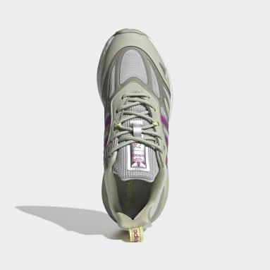 Women Originals Green ZX 2K Boost 2.0 Shoes