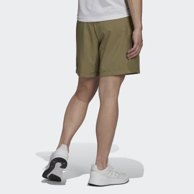 Pantalón corto AEROREADY Designed 2 Move Woven Sport Verde Hombre Gimnasio Y Entrenamiento