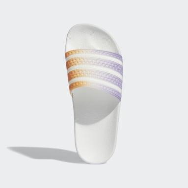 Women's Originals White Adilette Slides