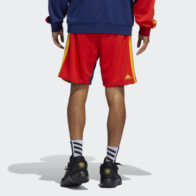 Heren Basketbal blauw D.O.N. x BAA Short