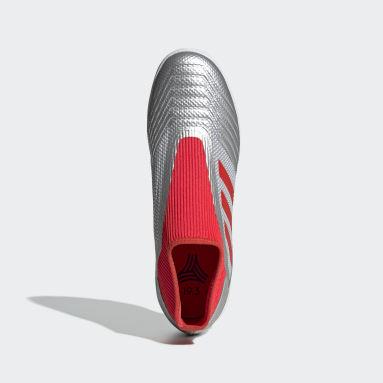 Calzado de Fútbol Predator 19.3 Césped Artificial Plata Hombre Fútbol