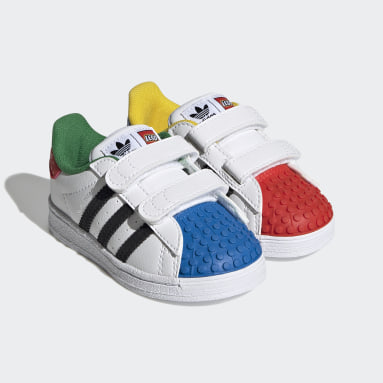 Děti Originals bílá Boty adidas Superstar 360 x LEGO®