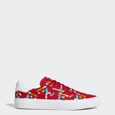 Originals สีแดง รองเท้า 3MC x Disney Sport Goofy