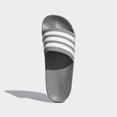 Men's Essentials Grey Adilette Shower Slides