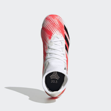 Kids Futsal White Predator 20.3 Indoor Boots