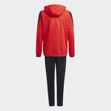 красный Спортивный костюм X Football-Inspired