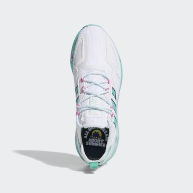 Originals White ZX 2K Boost Shoes
