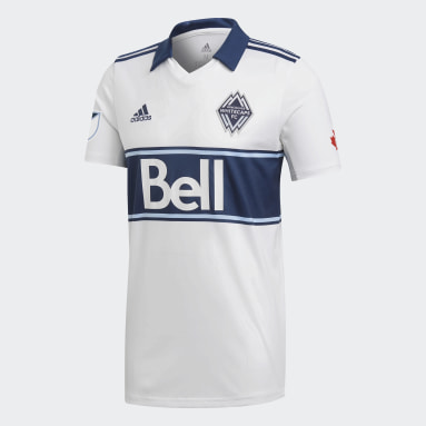 Maillot Vancouver Whitecaps FC Blanc Hommes Football