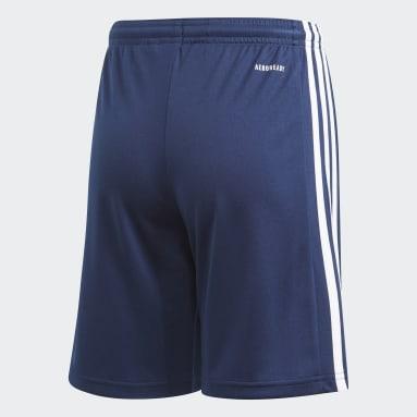 เด็กผู้ชาย ฟุตบอล สีน้ำเงิน SQUAD 21 SHO Y