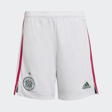 Kinderen Voetbal Wit Celtic FC 21/22 Derde Short