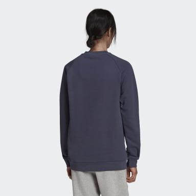 Adicolor Classics Trefoil Crewneck genser Blå
