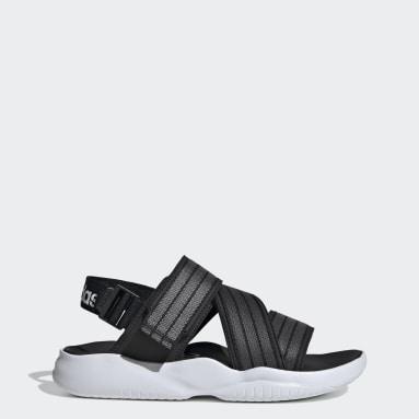 Women's Essentials Black 90s Sandals