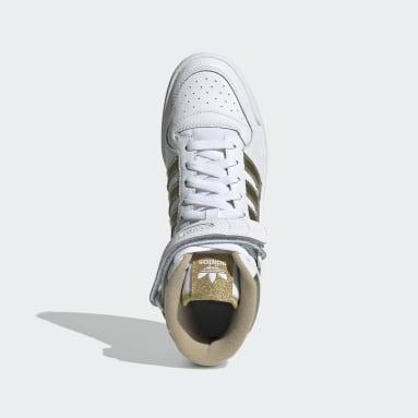 Women Originals White Forum Mid Shoes