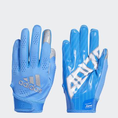 Men's Football Blue Adizero 11 Turbo Gloves