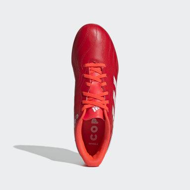 Men Football Red Copa Sense.4 Turf Boots