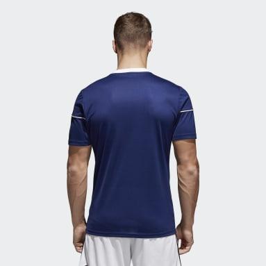 Camiseta Squadra 17 Azul Hombre Gimnasio Y Entrenamiento
