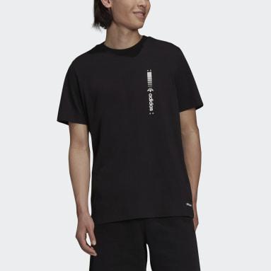 ผู้ชาย Originals สีดำ เสื้อยืด Graphics Symbol