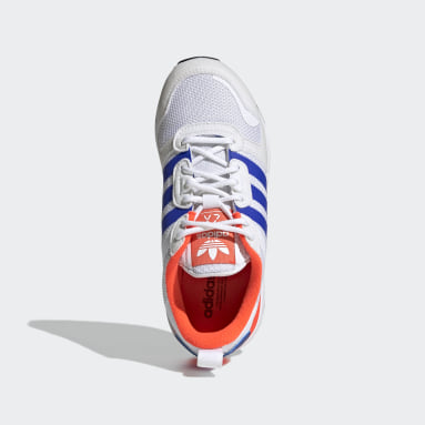 Children Originals White ZX 700 HD Shoes