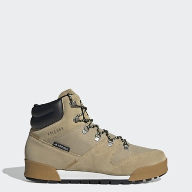 TERREX Beige Terrex Snowpitch COLD.RDY Hiking Shoes
