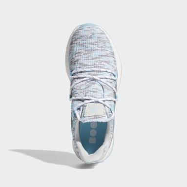 Women's Golf White Crossknit DPR Golf Shoes
