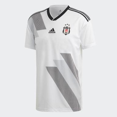Camiseta primera equipación Beşiktaş JK Blanco Hombre Fútbol