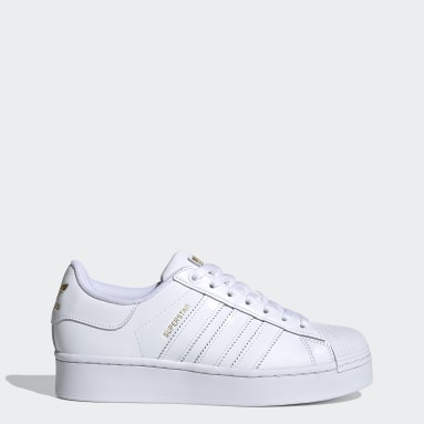 Women's Originals White Superstar Bold Women's Shoes