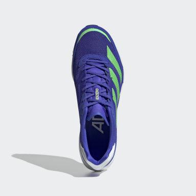 Men's Running Blue Adizero Adios 6 Shoes