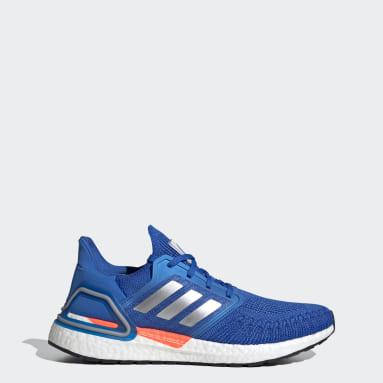 Men Running Blue Ultraboost 20 Shoes