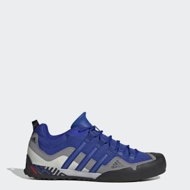Terrex Swift Solo Approach Shoes Niebieski