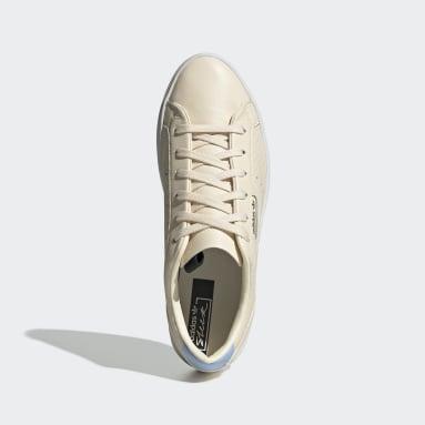 Tenis adidas Sleek Beige Mujer Originals