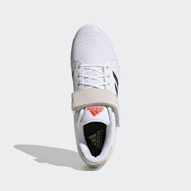 Sapatos de Halterofilismo Tokyo Power Perfect 3 Branco Cross Training
